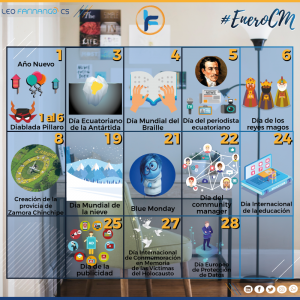 Enero-2019-Calendario-Festividades-Leo-Farinango-CS-Community-Manager-Quito