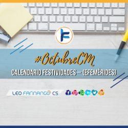 Calendario-efemérides-Octubre-Leo-Farinango-CS---Community-Manager-Quito-Portada