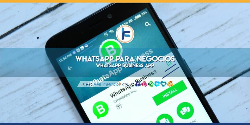 WhatsApp-Business-APP-WhatsApp-para-negocios-Leo-Farinango-CS-Community-Manager-Quito