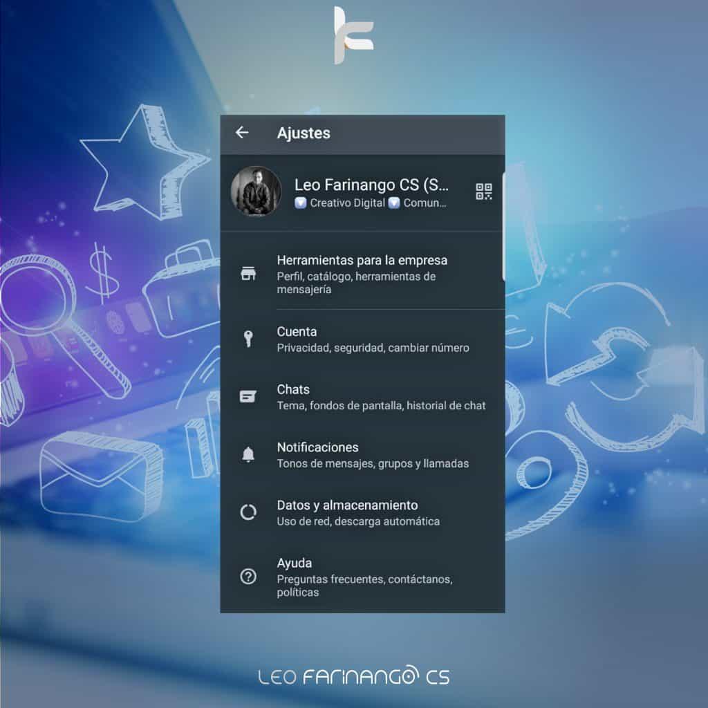 WhatsApp-Business-APP-WhatsApp-para-negocios-Leo-Farinango-CS-Community-Manager-Quito-2
